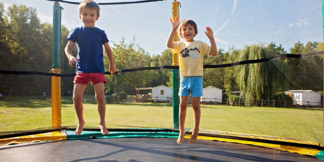 Trampoline without Springs