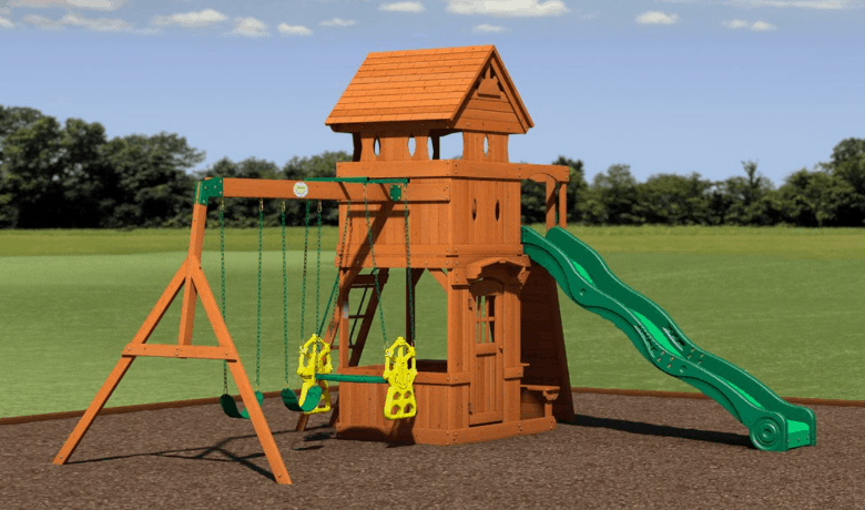 """8"" Best Swing Sets for Small Yards  2019 Reviews"